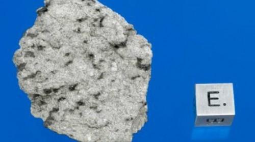 Foto: Fragmentos de un meteorito que impactó en Marruecos son de Marte