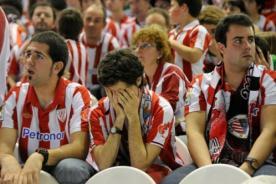 Hinchas del Athletic confundieron Buscarest con Budapest y vieron final por TV