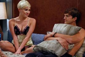 Miley Cyrus se luce en primeras fotos de Two and a Half Men