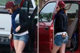 Kristen Stewart no sale a las calles sin su resortera (Foto)