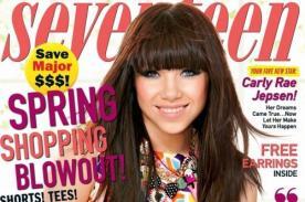 Carly Rae Jepsen luce look primaveral en la revista Seventeen - Fotos