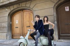 Alessandra Denegri y esposo chileno en sesión fotográfica - Video
