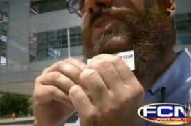 Beardvertising: Alquila tu barba para poner letreros publicitarios - video