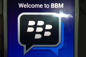 Muestran las primeras imágenes de BlackBerry Messenger para Android