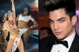 Adam Lambert defiende actuación de Miley Cyrus en VMA 2013