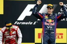 Sebastián Vetel venció en el Gran Premio de Italia de Fórmula 1