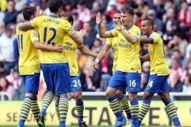 Mesut Özil debutó con pase gol en triunfo de Arsenal - Video