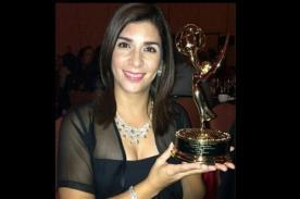 Un orgullo: Periodista Karen Falla gana Emmy del Periodismo
