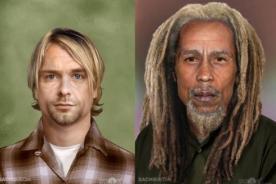 ¿Cómo lucirían algunos famosos si no hubieran fallecido? - FOTOS