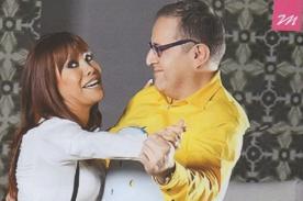 Magaly Medina y Beto Ortiz sellan su reencuentro con divertida sesión de fotos