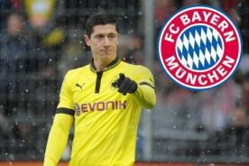 Confirmado: Bayern Munich oficializa el fichaje de Robert Lewandowski
