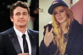 James Franco niega haber tenido aventura con Lindsay Lohan