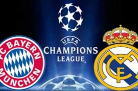 Real Madrid vs Bayern Munich en vivo por Fox Sports - Champions League
