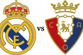 Video: Goles de Real Madrid vs. Osasuna (4-0) - Liga BBVA