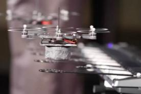 Banda musical de drones causa sensación en EE.UU. y ya están de gira - VIDEO
