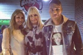Paolo Guerrero recibió mucho cariño de la mamá de su novia Bárbara Evans - FOTOS