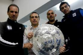 Copa Inca 2014: Entérate lo que dijo DT charrúa, tras coronarse campeón con Alianza Lima