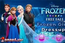 Juego online de Frozen para vestir ¡Vive una aventura congelada! - Friv gratis