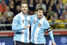 La conmovedora carta de Higuaín para Messi tras la final del Mundial 2014