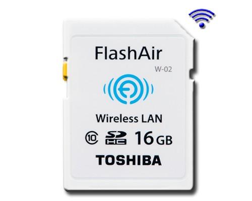 Toshiba lanza memoria con wifi