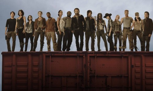 The Walking Dead: Adelantos de quinta temporada con música de U2 [Videos]