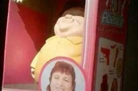 ¡Regala la muñeca de Abencia Meza en Navidad! ¡Esta foto está causando furor!