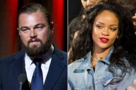 Primera foto juntos de Leonardo Dicaprio y Rihanna