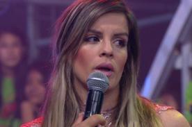 ¿Alejandra Baigorria se averguenza de haber estado con Guty Carrera? - VIDEO