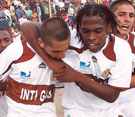 Goles del Inti Gas vs Cienciano (2-2)  – Copa Movistar 2011
