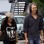 Vanessa Hudgens encantada de hacer compras con su novio