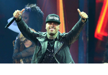 La curiosa forma de felicitar la navidad de Nicky Jam