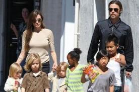 Brad Pitt: Mis hijos pueden ser actores, luego de cumplir los 18 años