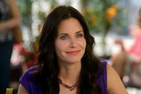 La popular actriz de Friends confesó no tener sexo hace más de un año