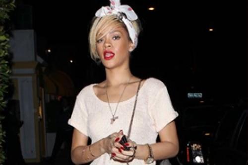 Rihanna visitó la casa de Ashton Kutcher a medianoche