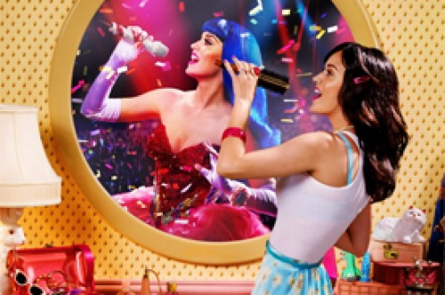 Katy Perry estrena el poster oficial de su película 'Part of Me'