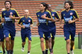 Colombia realizó primer entrenamiento pensando en Perú