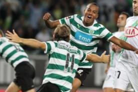 Video: André Carrillo marca en el empate del Sporting Lisboa