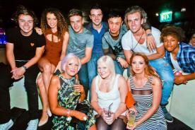 Liam Payne celebró sus 19 años en una gran fiesta