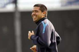 Juan Román Riquelme entrena de nuevo para regresar al fútbol