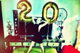 Miley Cyrus muy feliz por haber celebrado sus 20 años