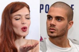 Max George niega tener una relación sentimental con Lindsay Lohan