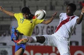 Sudamericano Sub 20 Argentina 2013: Previa técnica del Perú vs Ecuador