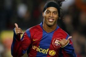 Ronaldinho: Guardiola no tuvo que ver con mi salida del Barcelona