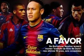 Futbol Español: Barcelona y su obsesión por los cracks brasileños