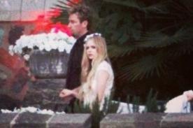 Fotos: Avril Lavigne y Chad Kroeger en su boda