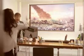 Personas pasan el susto de sus vidas al ver un 'meteorito' - Video