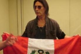 Rock in Río: Alice in Chains recibió de regalo bandera peruana