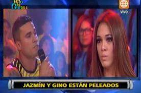 Esto es Guerra: Gino Assereto y Jazmín Pinedo discutieron en vivo - Video