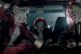 Block B como ladrones disfrazados de payasos para 'Very Good' - Video
