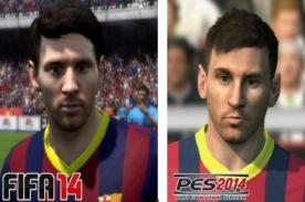 FIFA 14 vs PES 2014: Así se ven los rostros de los jugadores - Fotos